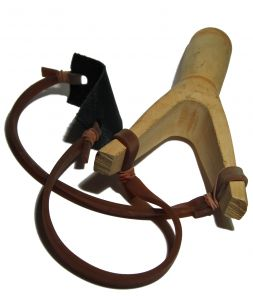 Slingshot - the handheld catapult